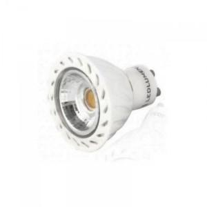 LED žárovka 5W COB GU10 380lm TEPLÁ